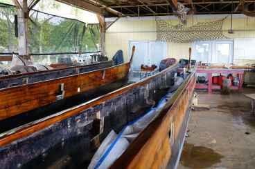 42 ft double hull sailing canoe © Gérard Koch 2017