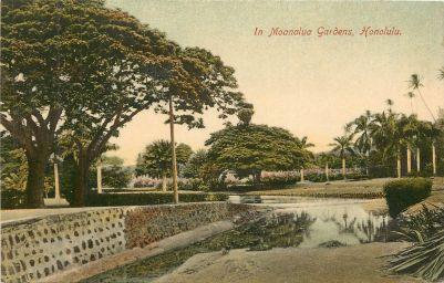 1910 - Moanalua Gardens, Honolulu