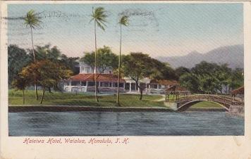 Haleiwa Hotel, Waialua, Honolulu, Hawaii