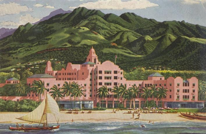 Royal Hawaiian Hotel Postcard
