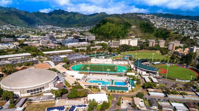 Campus of University of Hawai'i at Manoa