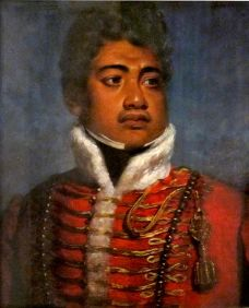 Portrait of King Kamehamheha II of Hawai'i attributed to John Hayter