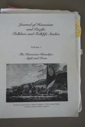 Journal of Hawaiian and Pacific Folklore and Folklife Studies Vol.1