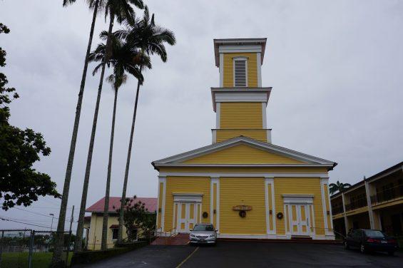 Waiakea Mission - Haili Chirch, built 1850's ©Foto Gérard Koch