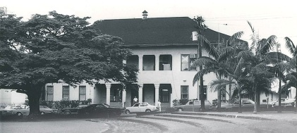 Hilo, old police and courthouse - ca 1960