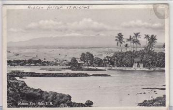 View to Mauna Kea from Hilo - 1603
