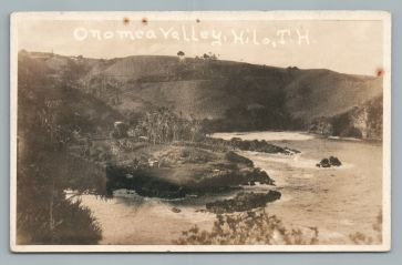 Onomea Valley, Hilo - 1920