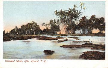 Cocoanut Island Hilo - 1905