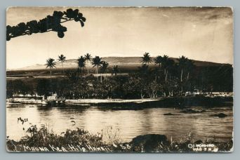 Hilo with the view to Mauna Kea - 1920