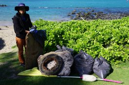 Almost the End of Cleaning Maui - 2017 ©Foto Gérard Koch