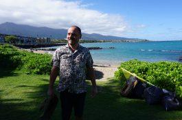 Good feeling after cleaning,Maui - 2017 ©Foto Gérard Koch
