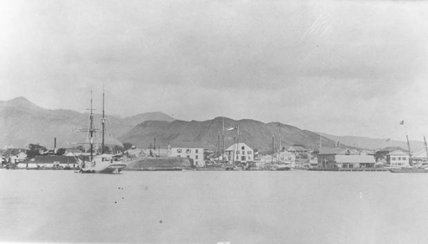 Honolulu-harbor-1800s