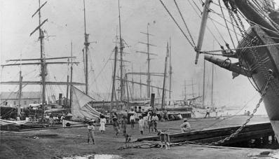 Honolulu-harbor-1900s