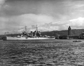 USS Honolulu 14Jul 1939